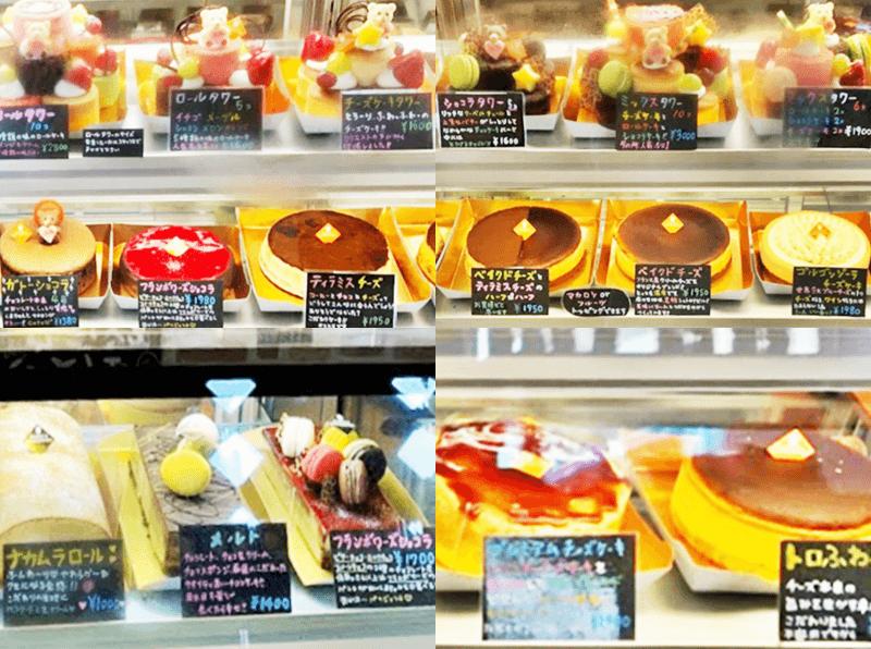スイーツナカムラ ホールケーキ、ロールケーキなど