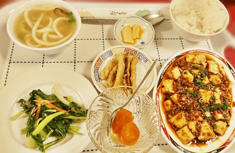 台北飯店 麻婆豆腐ランチ