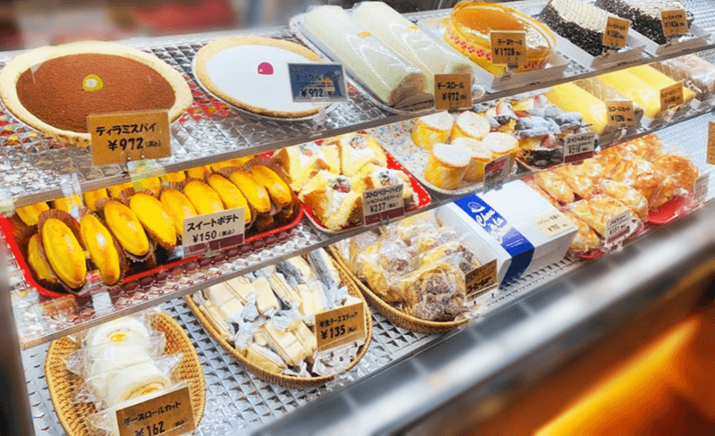 ハッピー洋菓子店 もう一つのショーケース