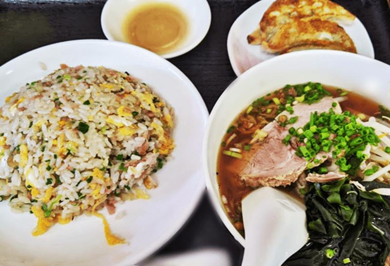 麺作 炒飯セット
