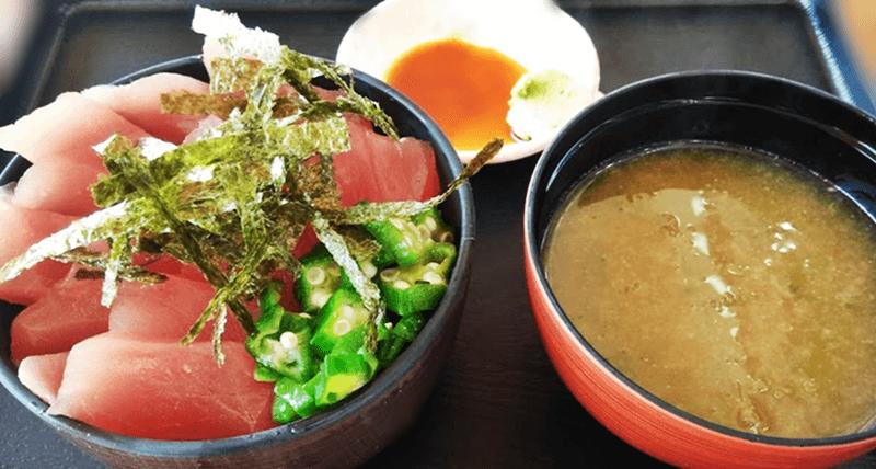 海人食堂 マグロ丼