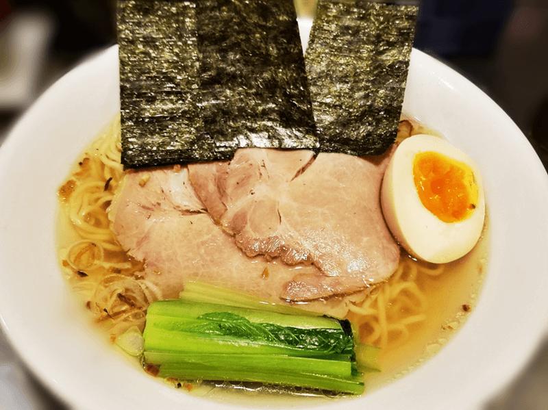 登竜門 ホタテ香る塩ラーメン(細麺)