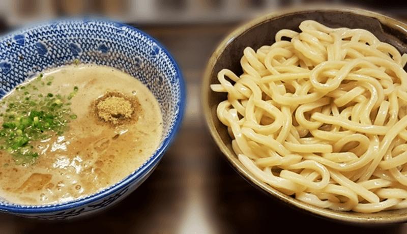 夢ノ弥 濃厚豚骨魚介三代目つけ麺(大)