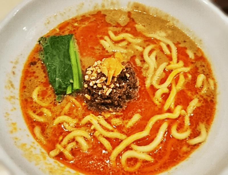登竜門 濃厚担々麺(太麺)