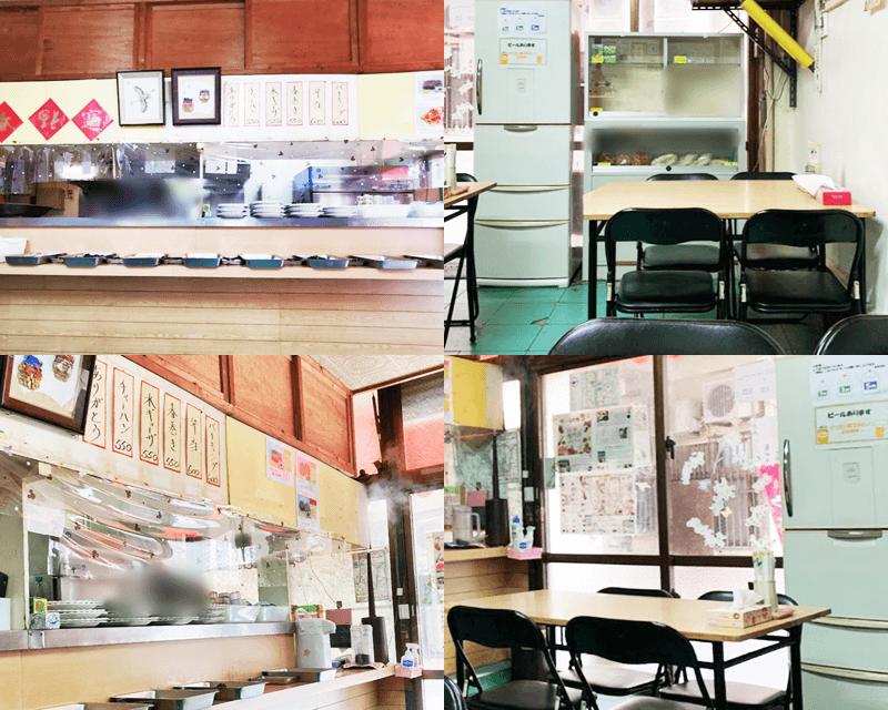 金壺食堂 店内の雰囲気