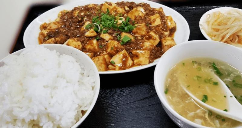麺作 麻婆豆腐