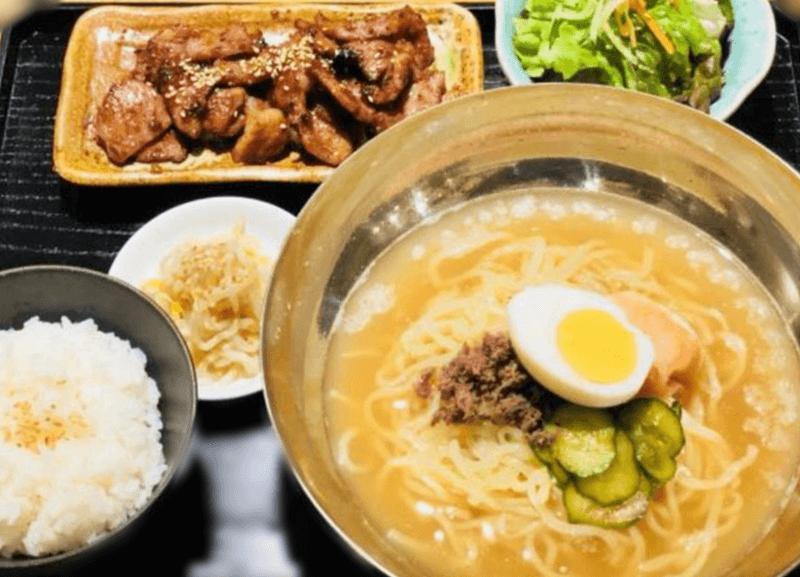 J-chan 冷麺 冷麺焼肉セット