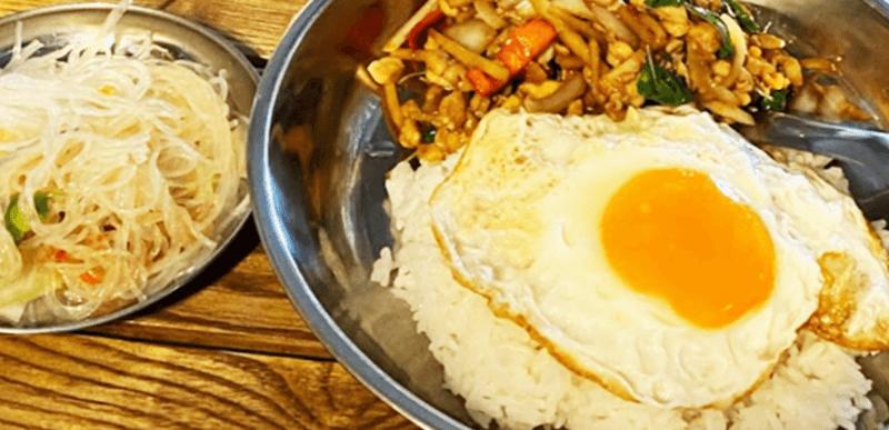 アジアン食堂 シロクマ ガパオライス