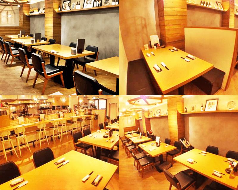 J-chan 冷麺 店内の雰囲気