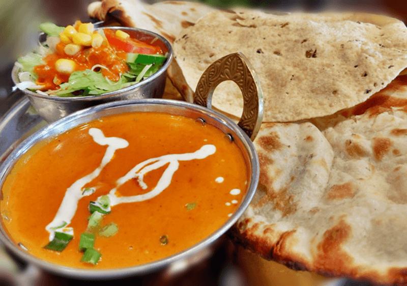 シヴァ マハル(Shiva Mahal)日替わりランチ(ひき肉のカレー)