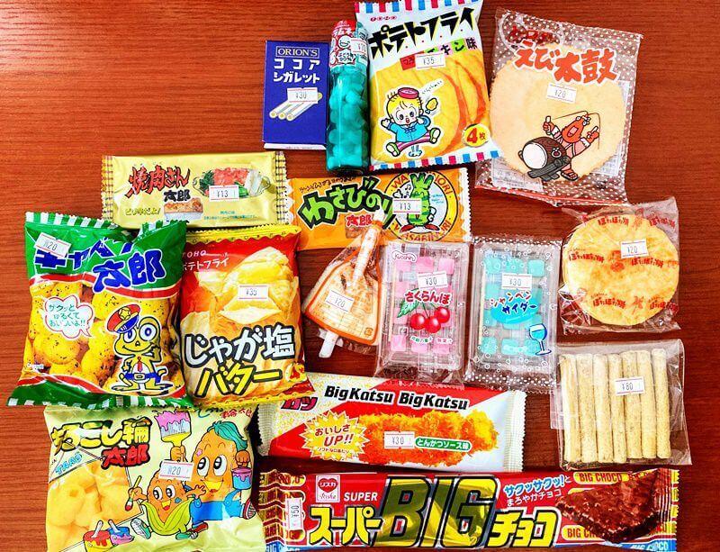 駄菓子屋 よっちゃんの店 購入した駄菓子